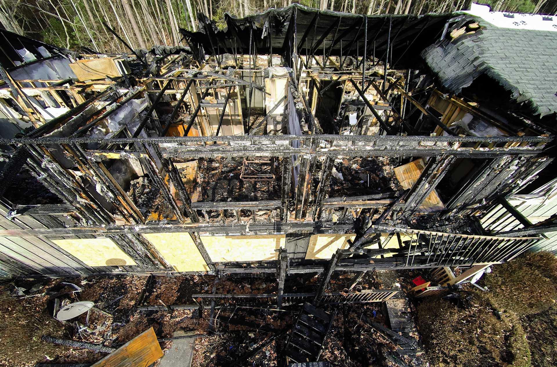 commercial fire damage restoration